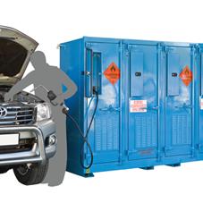 LM850 storage cabinet